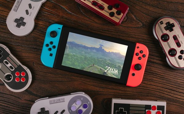 8BITDO CONTROLLERS NOW WORK WITH THE NINTENDO SWITCH